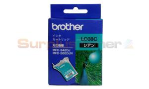 BROTHER MFC-3420J INK CARTRIDGE CYAN (LC-08C)