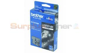 BROTHER MFC-6490CW INK CARTRIDGE BLACK HY (LC-67HY-BK)