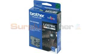 BROTHER MFC-6490CW INK CARTRIDGE BLACK (LC-67BK)