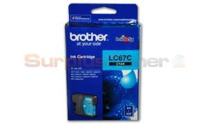 BROTHER MFC-6490CW INK CARTRIDGE CYAN (LC-67C)