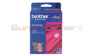BROTHER MFC-6490CW INK CARTRIDGE MAGENTA HY (LC-67HY-M)