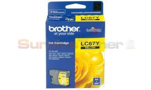 BROTHER MFC-6490CW INK CARTRIDGE YELLOW (LC-67Y)