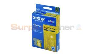 BROTHER MFC-6490CW INK CARTRIDGE YELLOW HY (LC-67HY-Y)