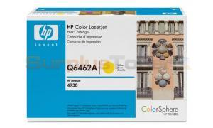 HP CLJ 4730 MFP TONER CART YELLOW GOV (Q6462AG)