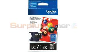 BROTHER MFC-J280W INK CARTRIDGE BLACK (LC-71BK)