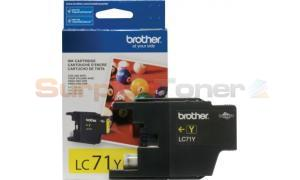 BROTHER MFC-J280W INK CARTRIDGE YELLOW (LC-71Y)