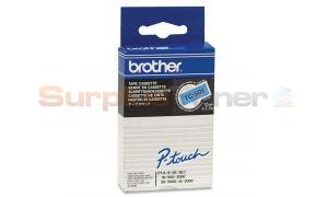 BROTHER TC TAPE BLACK ON BLUE 12 MM X 7.7 M (TC-501)