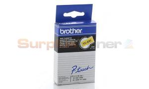 BROTHER TC TAPE BLACK ON YELLOW 9 MM X 7.7 M (TC-691)