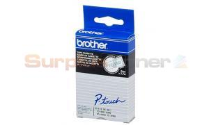 BROTHER TC TAPE BLUE ON WHITE 9 MM X 7.7 M (TC-293)