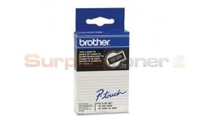 BROTHER TC TAPE GOLD ON BLACK 12 MM X 7.7 M (TC-301)