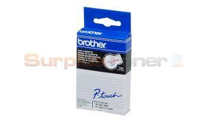BROTHER TC TAPE RED ON WHITE 9 MM X 7.7 M (TC-292)