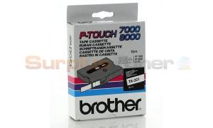 BROTHER TX BLACK ON WHITE 9 MM X 15 M (TX-221)