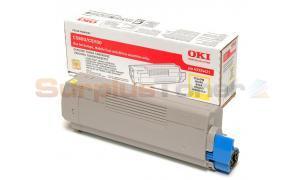 OKIDATA C5800 C5900 MFP TONER YELLOW (43324421)