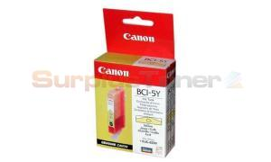 CANON 8200 BCI-5Y INK CARTRIDGE YELLOW (0988A002)