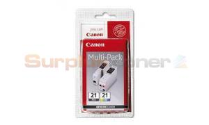 CANON BCI-21 INK CART BLACK AND COLOR (0954A379)
