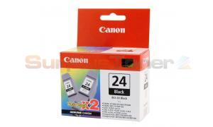 CANON BCI-24 INK BLACK 2-PACK (6881A010)