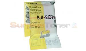CANON BJ-600 BJI-201Y INK CARTRIDGE YELLOW (F47-0561-500)