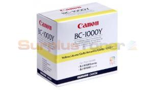 CANON BJ-W3000 BC-1000Y PRINTHEAD YELLOW (0933A003)