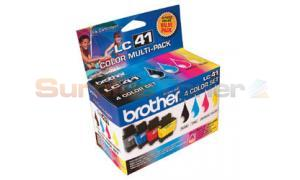 BROTHER MFC 210C INK CTG CMYK MULTI PACK (LC-414PKS)