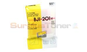 CANON BJI-201Y INK CARTRIDGE YELLOW (0949A001[AA])