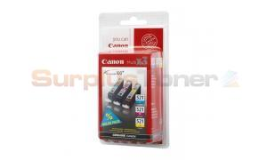 CANON CLI-521 INK CARTRIDGE MULTIPACK CMY (2934B007)