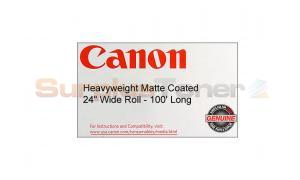 CANON HW MATTE COATED PAPER 24IN X 100FT 230GSM (0849V342)