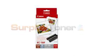 CANON KC-18IF INK COLOR / LABEL SET (7741A001[AA])