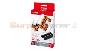 CANON KC-18IL INK COLOR / LABEL SET (7740A001)