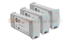 HP NO 771 DESIGNJET INK CTG LIGHT CYAN (CR255A)