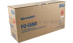 SHARP FO-DC550 TONER/DEVELOPER CTG BLACK (FO-55ND)