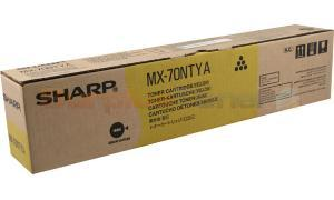 SHARP MX-5500N 6200N TONER CARTRIDGE YELLOW (MX-70NTYA)
