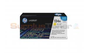 HP NO 124A CLJ-2600 PRINT CARTRIDGE YELLOW (Q6002A)