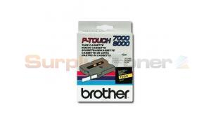 BROTHER TX TAPE BLACK ON YELLOW 6 MM X 15 M (TX-611)