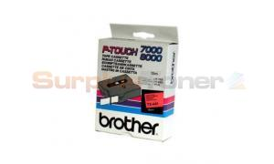BROTHER TX TAPE BLACK ON RED 18 MM X 15 M (TX-441)