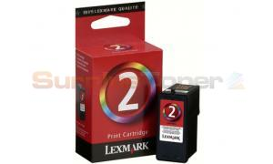 LEXMARK Z1380 NO 2 PRINT CARTRIDGE TRI-COLOR (18C0190E)