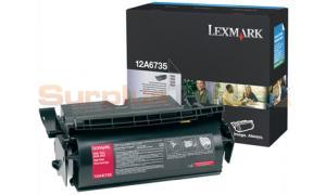 LEXMARK T520 TONER CARTRIDGE BLACK 20K (12A6735)