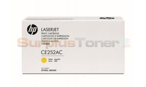 HP CLJ CM3530 CONTRACT TONER YELLOW (CE252AC)