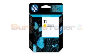 HP 11 INK CARTRIDGE YELLOW (C4838AL)