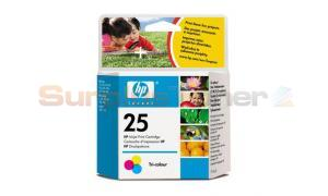 HP 25 INK CARTRIDGE TRI-COLOR (51625AL)