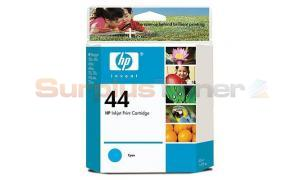 HP 44 INK CARTRIDGE CYAN 42ML (51644CL)