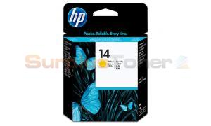 HP NO 14 PRINTHEAD YELLOW (C4923A)