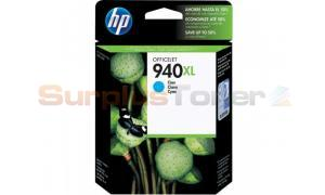 HP 940XL OFFICEJET INK CARTRIDGE CYAN (C4907AL)