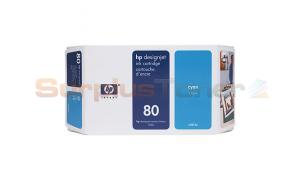 HP DESIGNJET 1050C NO 80 INK CYAN 175ML (C4872A)