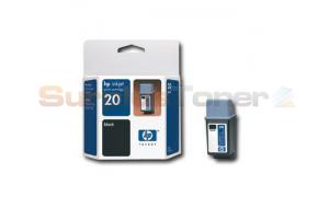 HP 20 INKJET CARTRIDGE BLACK (C6614DC)