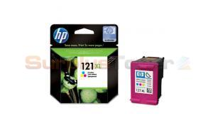 HP NO 121XL INK CARTRIDGE TRI-COLOR 440 PAGES (CC644HE)