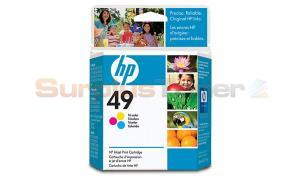 HP NO 49 INK TRI-COLOR (51649AL)