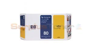 HP DESIGNJET 1050C NO 80 INK YELLOW 175ML (C4873A)