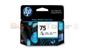 HP NO 75 INKJET CARTRIDGE TRI-COLOR 170 PAGES (CB337WA)