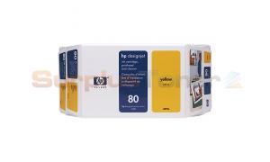 HP DESGINJET 1050 NO 80 VALUE PACK YELLOW 350ML (C4893A)