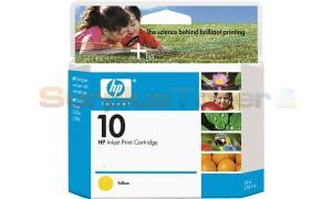 HP NO 10 INK YELLOW 28ML (C4842A)